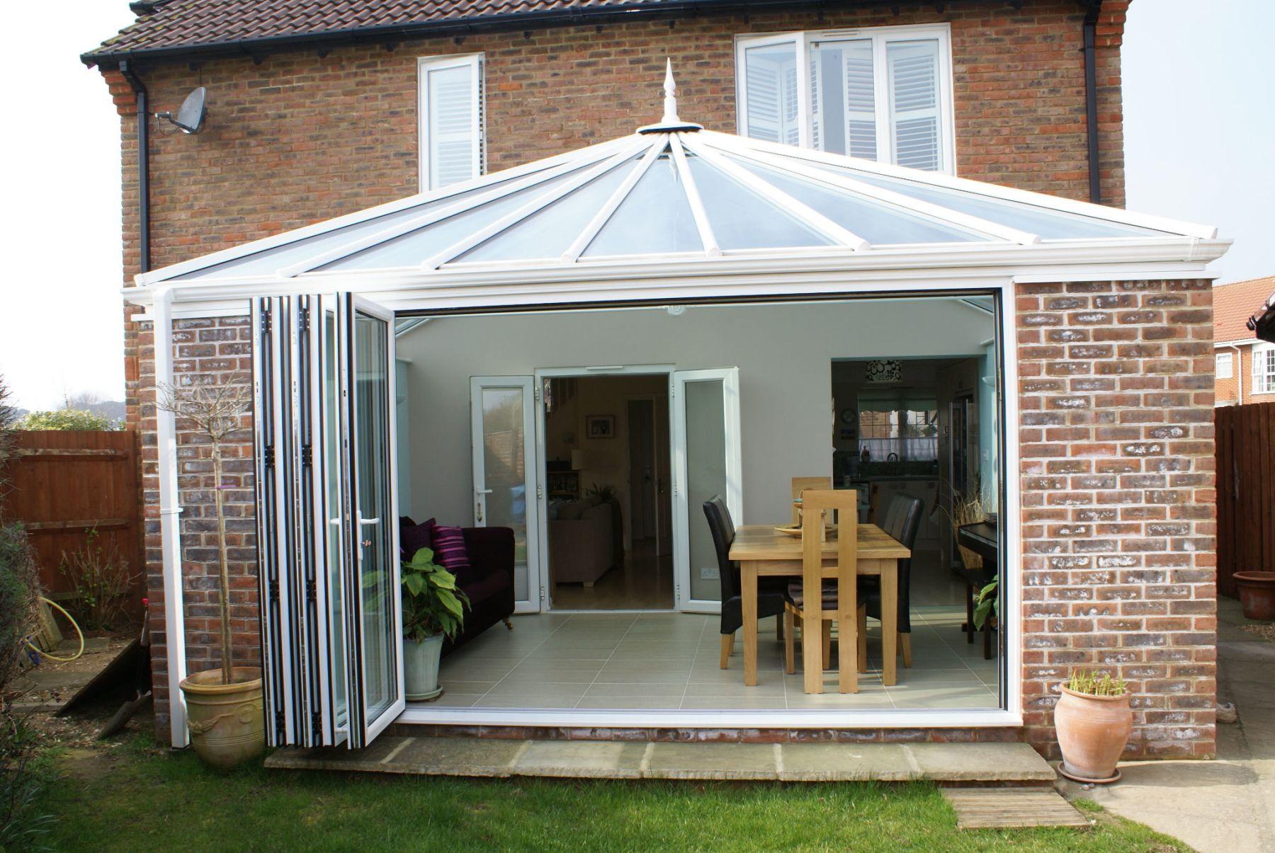 Bi Fold Doors Conservatory in Taunton